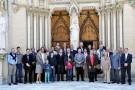 Photo de groupe avec Monseigneur Pierre-Marie Carré. Notre archevêque était ce jour-là notre invité d'honneur.