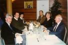 De gauche à droite : monsieur Jean-Paul Chassaing,ancien président de l'APEL,Christian Baqué,madame Mennesson,monsieur Jean-François Mennesson,ancien membre de l'OGEC,madame Chassaing et monsieur de Lapasse,également ancien de l'OGEC Pierre Rouge.