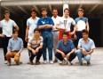 Les équipes de Première S1 et de Seconde A, finalistes du Championnat et du Tournoi des As. La photo fut prise dans la cour des Miracles, où se déroulaient les compétitions de cette discipline.