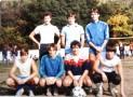 L'équipe de Terminale, victorieuse de la Coupe des Classes Scientifiques. La photo fut prise dans le Stade Charles Prévost.
